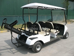 CE Approved Four Seater Golf Cart with