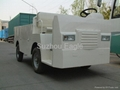CE Approved 1500kgs Loading Capacity Electric Industrial Car