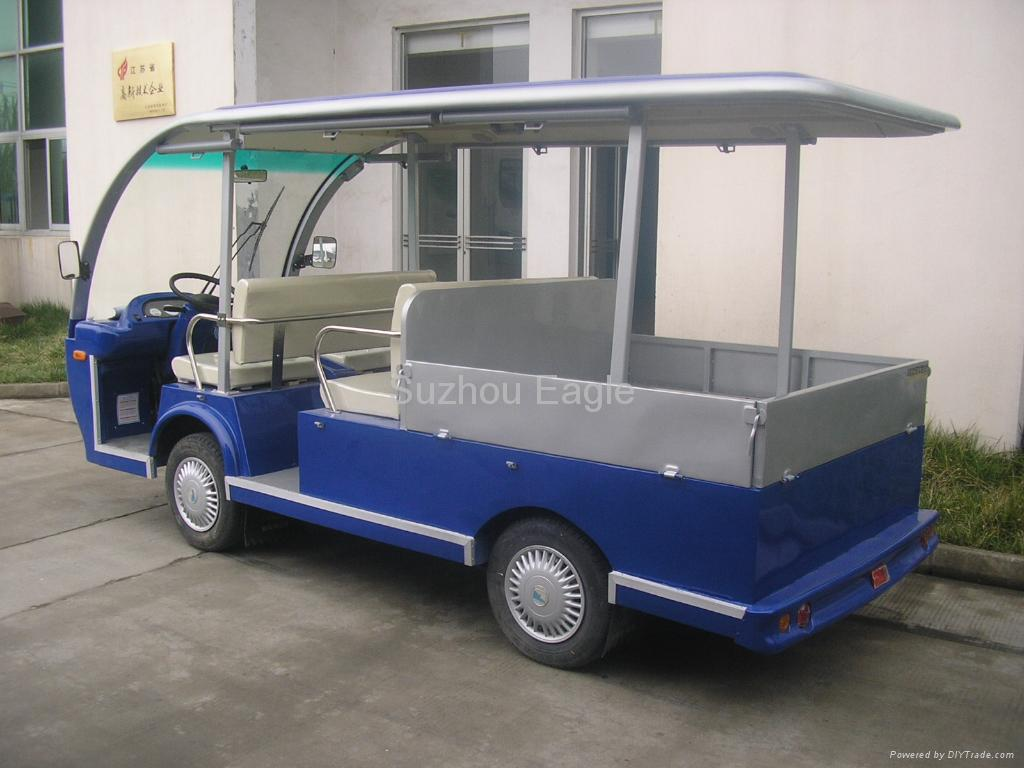 Passenger and Cargo-Bed Vehicle (EG6083K WITH 4 SEATS AND CARGO-BED) 1