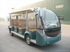 CE Approved 14 Seats Electric Shuttle Bus (Hot Product - 1*)