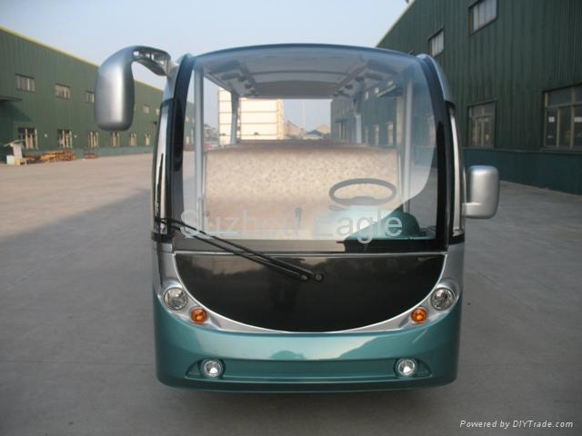 CE Approved 14 Seats Electric Shuttle Bus 5