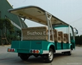 CE Approved 11 Seats Electric Shuttle Bus 2