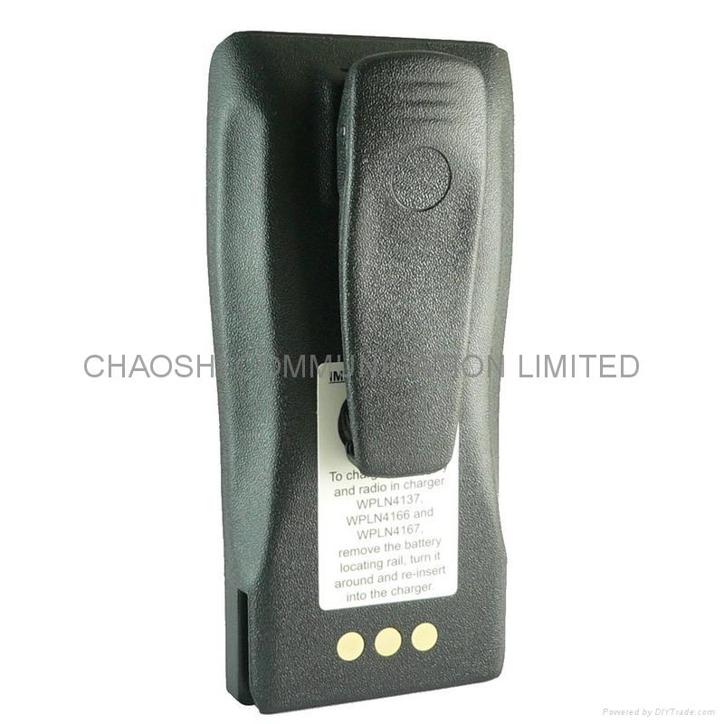 two way radio battery pcak for MOTOROLA NNTN4851 1