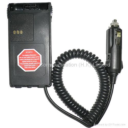 摩托羅拉GP308對講機電池代用器 1