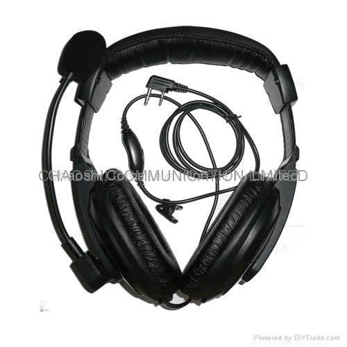 建伍KHS10-0H头戴式对讲机耳机 1