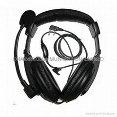 建伍KHS10-0H头戴式对讲机耳机
