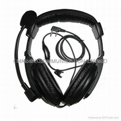 建伍KHS10-0H頭戴式對講機耳機