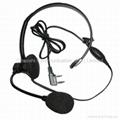 建伍KHS10-0H头戴式对讲机耳机 2