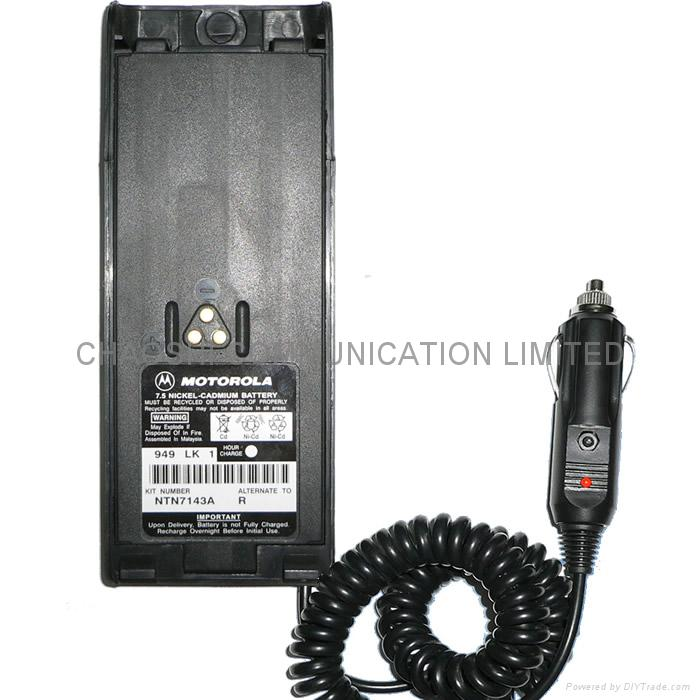 MOTOROLA GP900對講機電池代用器 1