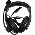 Heavy Duty Headset For MOTOROLA
