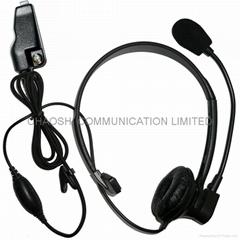 Kenwood KHS-14/KHS-7頭載式單耳耳機