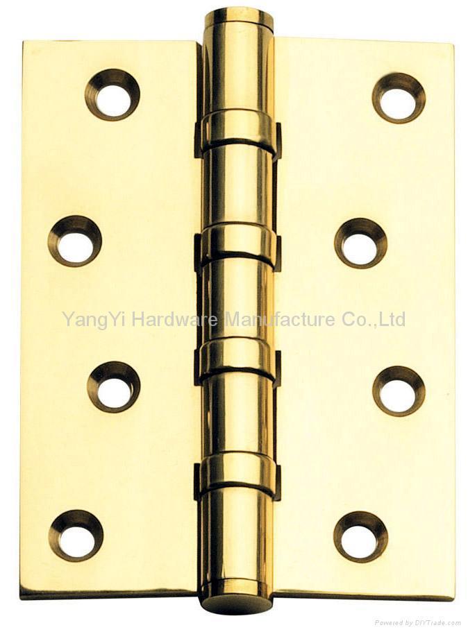 BH3043-4BB FT PVD Brass hinge 1