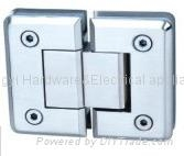 YY-001 180°Glass Bathroom Hinge(double side)