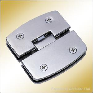YY-007 180°Glass Hinge 1