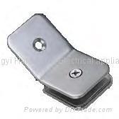 YY-014 135°玻璃連接夾(單面)