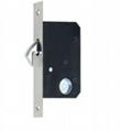 SDL002系列 35mm-BK 單邊 移門鎖 2