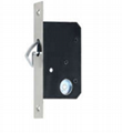 SDL002  Silding Door Lock(35mm-BK single side)
