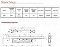 DC-4800ADS Conceal Door Colser(adjustable power)cam action 3
