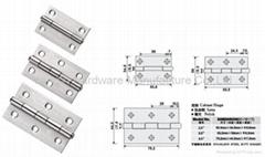 SS23 不锈钢柜子铰链 (不锈钢小合页)