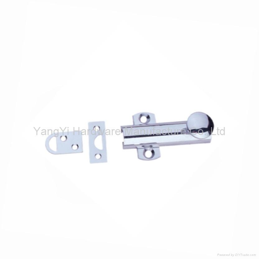 BNB-13  CP  Brass Door Catch(Round)