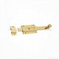 BNB-19 PL  Brass Door  Bolt