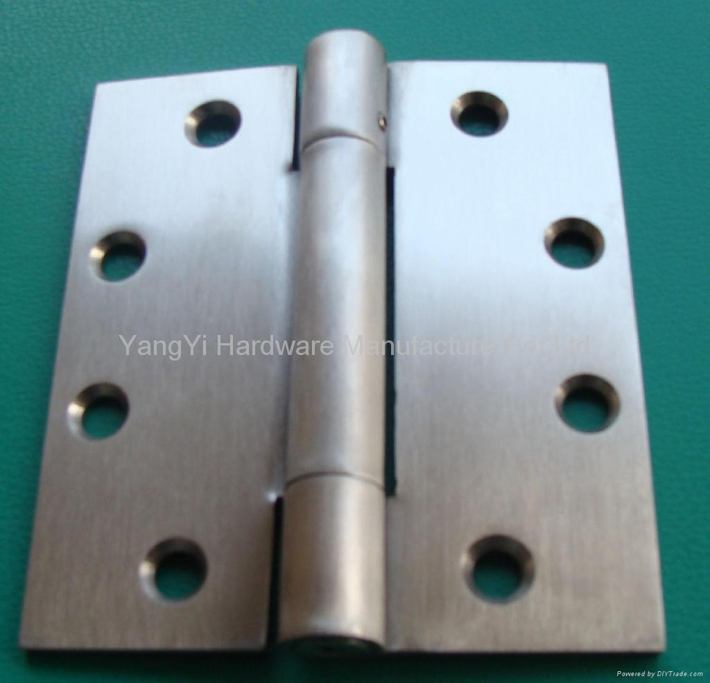 SS25 34454 3KN  NRP SS Stainless Steel Three-Knuckle Hinge/Commercial Hinge 1
