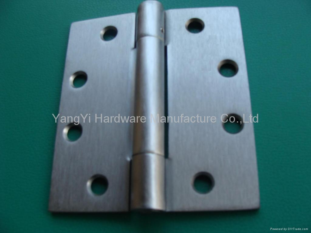 SH13 34454 3KN NRP SC Steel Three-Knuckle Hinge/commercial hinge 1