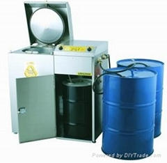 带真空减压型溶剂回收机