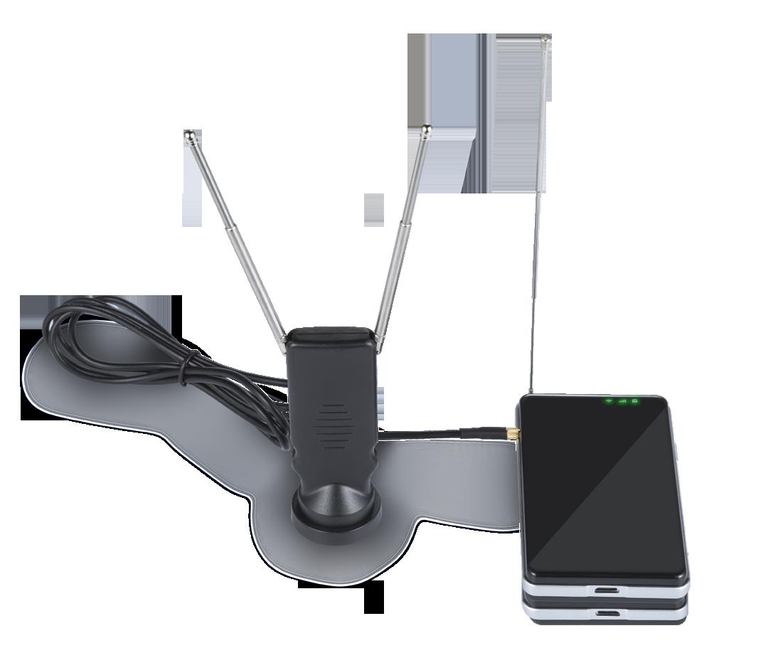 Lesee V6 DVB-T T2 Wi-Fi移动电视盒子 4