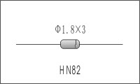HN82線性NTC溫度補償元件