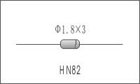 HN82线性NTC温度补偿元件
