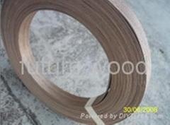 1.5mm thick walnut veneer edge banding