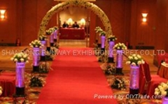Wedding or Home decoration carpet
