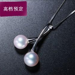 七夕情人节礼物天然珍珠吊坠项链 5
