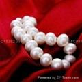 天然淡水珍珠手鏈七夕情人節禮物 2
