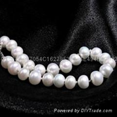 天然淡水珍珠手鏈七夕情人節禮物