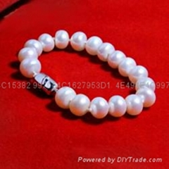 珍珠首飾七夕情人節禮物淑女氣質手鏈