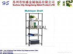 Multilayer shelf