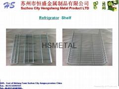 Refrigerator Wire Grid and Shelf