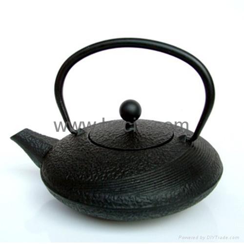 0.48 liter cast iron teapot 1