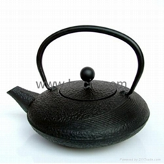0.48 liter cast iron teapot