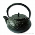 0.6 liter tetsubin cast iron teapot with