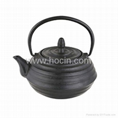 0.7 liter tetsubin style cast iron teapot with removable s/s filter