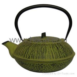 0.5 liter cast iron teapot 1