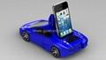 Lamborghini with IP mini car speaker with FM radio,suport MP3, USB disk, TF cad