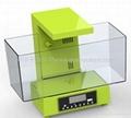 新款时尚迷你鱼缸,LED时钟显示,收音机 2