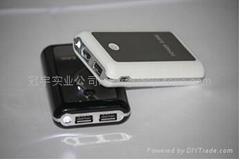 A品電芯3600mah 雙USB輸出大容量移動電源