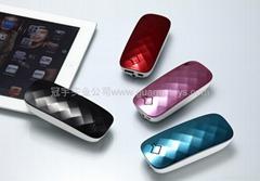3600mAh迷你時尚鑽石移動電源  創意手機充電寶