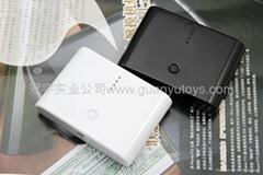 10800mAh便捷馒头移动电源  时尚手机/MP3/MP4充电宝