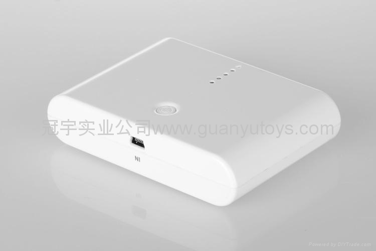 10800mAh便捷馒头移动电源  时尚手机/MP3/MP4充电宝 2